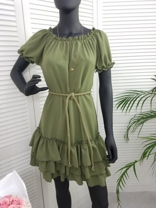 Sukienka Tunika Bluzka Selena Beige