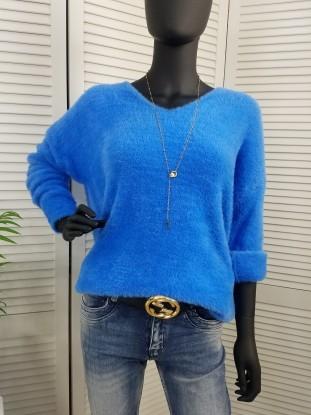 Sweterek panterka Versace